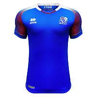 Футбольная футболка Сборной Исландии с коротким рукавом 2018, домашняя, фото 1