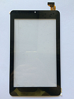 Оригинальный тачскрин / сенсор (сенсорное стекло) для Digma Optima 7301 TS7057AW (черный цвет, самоклейка)