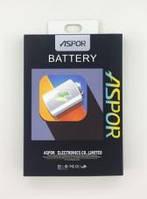 АКБ Aspor для телефонов Samsung, 100% оригинальная ёмкость