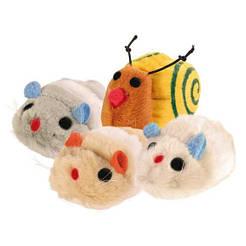Trixie 4089 Набор игрушек для кошек 12шт