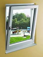 Окно металлопластиковое 1-створчатое с открыванием Rehau 60, фото 1