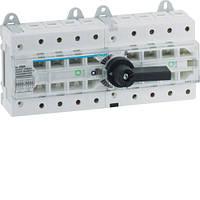 Рубильник переключатель трехпозиционный I-0-II, 4п, 80А, 400В/690В, HI404R Hager
