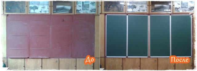 Реставрация школьной доски