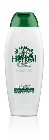 Фитошампунь для нормальных волос Болгарская Роза Herbal Care Роза 240 мл, фото 2