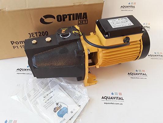 Поверхностный бытовой насос Optima JET 200