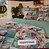 Комплект постельного белья Тиротекс натуральный сублимация тд-90