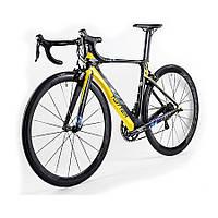 Велосипед шоссейный TWITTER T10 Aero черно-желтый