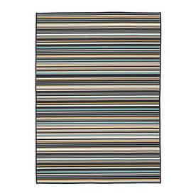 IKEA, KARBAK, Ковер безворсовый, для дома/улицы, разноцветный, 133x195 см (50319473)(503.194.73) КАРБАК ИКЕА