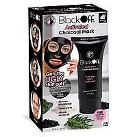 Маска-плівка для очищення пір з деревним вугіллям Black Off Activated Black Mask