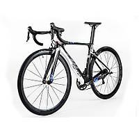 Велосипед шоссейный TWITTER  T10 Aero черно-белый, фото 1