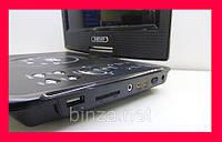DVD 9 Портативный Проигрыватель. Телевизор портативный для авто!Хит цена