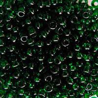 Чешский бисер для вышивания Preciosa (Прециоза) оригинальный 5г 31119-50060-10 зеленый
