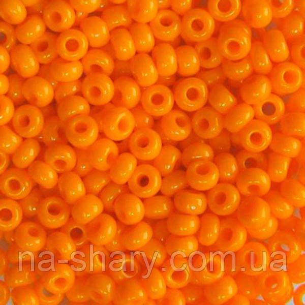 Чешский бисер для вышивания Preciosa (Прециоза) оригинальный 5г 31119-93110-10 оранжевый