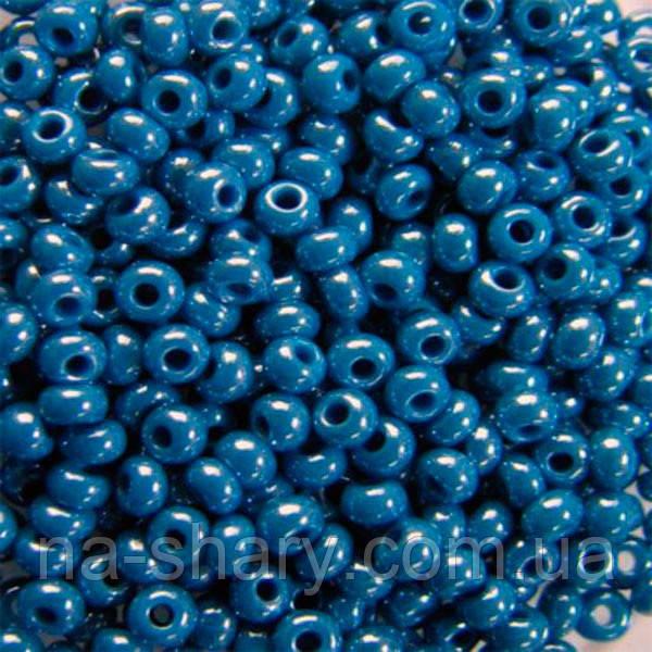 Чешский бисер для вышивания Preciosa (Прециоза) оригинальный 5г 33119-38220-10 синий