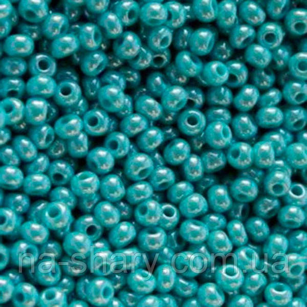 Чешский бисер для вышивания Preciosa (Прециоза) оригинальный 5г 33119-68030-10 морская волна