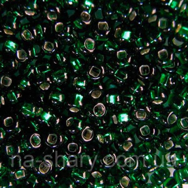 Чешский бисер для вышивания Preciosa (Прециоза) оригинальный 5г 33129-57060-10 Зеленый