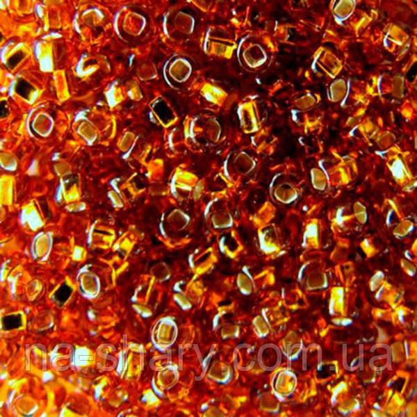 Чешский бисер для вышивания Preciosa (Прециоза) оригинальный 5г 33129-17090-10 Янтарный