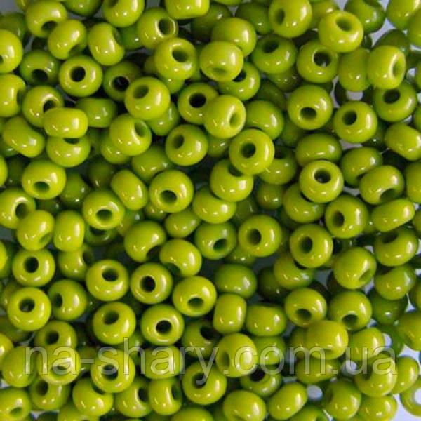 Чешский бисер для вышивания Preciosa (Прециоза) оригинальный 5г 31119-53430-10 Оливковый