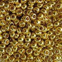 Чешский бисер для вышивания Preciosa (Прециоза) оригинальный 5г 33119-18181-10 Золотистый