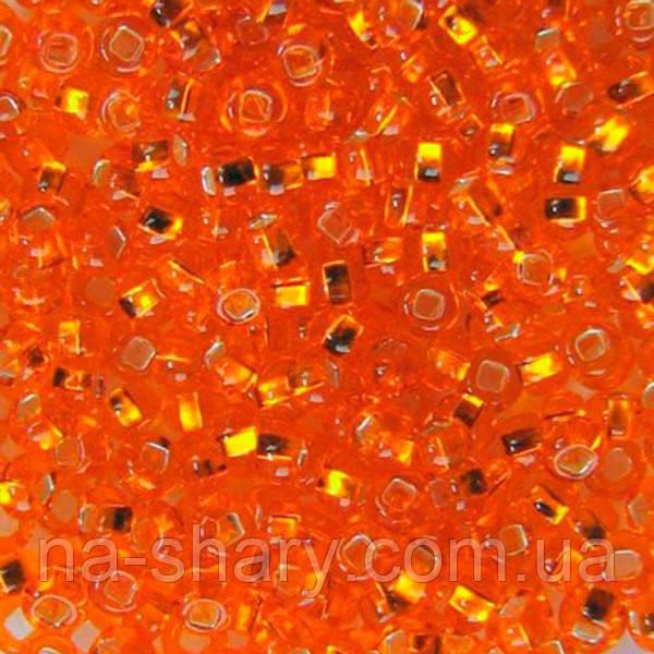 Чешский бисер для вышивания Preciosa (Прециоза) оригинальный 5г 33129-97000-10 оранжевый
