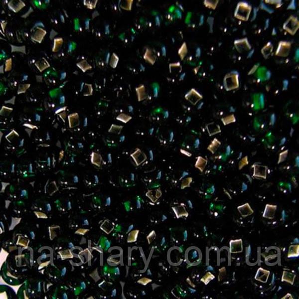 Чешский бисер для вышивания Preciosa (Прециоза) оригинальный 5г 33129-57150-10 зеленый