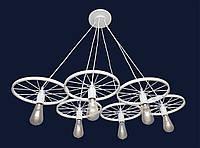 Светильники в стиле лофт 75990180-6 WH