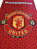 "Пляжное полотенце  ФК ""Манчестер Юнайтед"" с логотипом  любимого футбольного клуба, фото 2"
