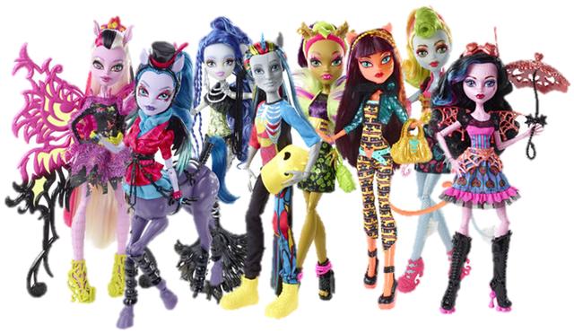 Куклы коллекции монстер хай