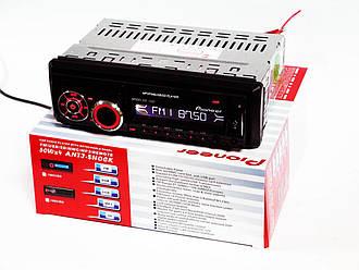 Автомобильная магнитола Pioneer 1092 MP3 съемная панель, фото 2