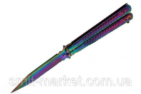 Нож бабочка B805, фото 2
