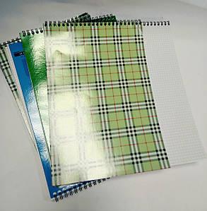 Блокнот на спирали А4 48 листов обложка картон