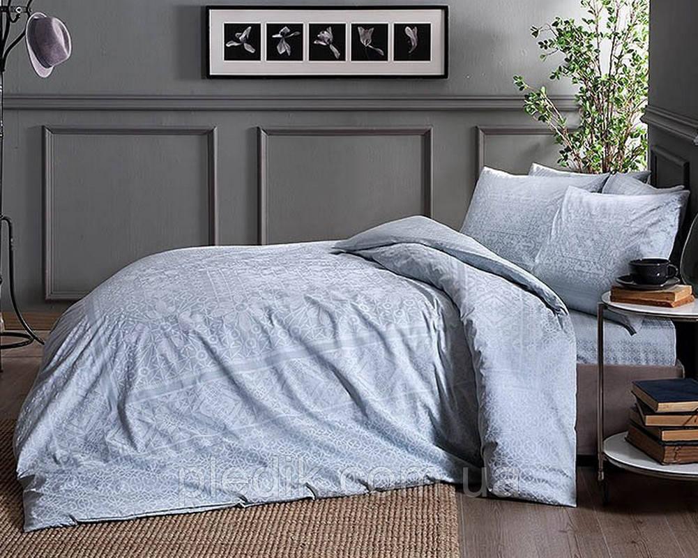 Комплект постельного белья 200х220 TAC сатин FABIAN V53 MINT