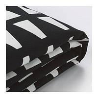 IKEA, LYCKSELE, Обложка для 2-местного раскладного кровати, Ebbarp black / белый (60324582)(603.245.82) ЛИКСЕЛЕ, ЛІКСЕЛЕ, ИКЕА, ІКЕА, АЙКИА