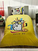 Подростковое постельное белье TAC Турция Rock ON