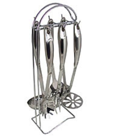Набор кухонных принадлежностей 7 предметов Barton Steel BS-8003