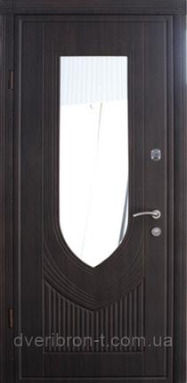 Входная дверь Страж standart Турин зеркало, фото 2