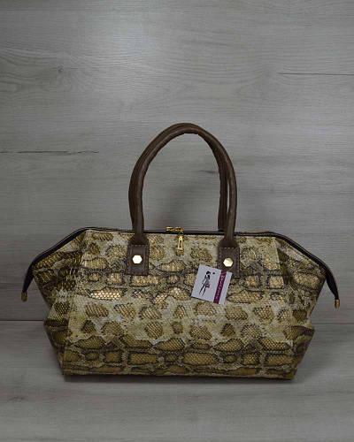 6a7491cd3f15 Классическая женская сумка Оливия золотая змея: продажа, цена в  Кропивницком. женские сумочки и клатчи от