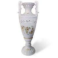 """Ваза """"Диана"""", керамическая ваза 80 см, напольная ваза для цветов"""