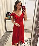 Женское платье с рюшами (4 цвета), фото 3