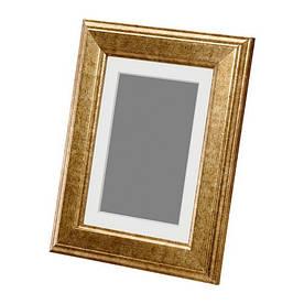 IKEA, VIRSERUM, Рама, золотой (60378513)(603.785.13) ВИРСЕРУМ ИКЕА