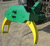 Захват для бревен на заднюю навеску трактора, фото 1