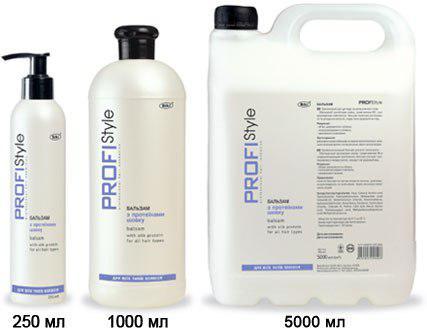 Бальзам для волос с протеинами шелка PROFIStyle для всех типов волос
