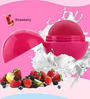 Бальзам для губ Romantic Bear Strawberry увлажняющий с маслом Ши