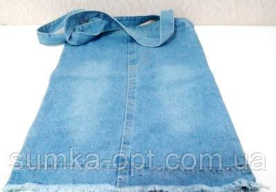 Джинсовые сумки (голубой)35*38