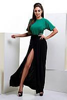 Длинное платье с резинкой на талии 42-46р
