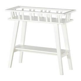 IKEA, LANTLIV, Пьедестал для цветов, белый, 68 см (70186113)(701.861.13) ЛАНТЛИВ ИКЕА