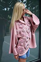 Кофта трикотажная розового цвета, фото 1