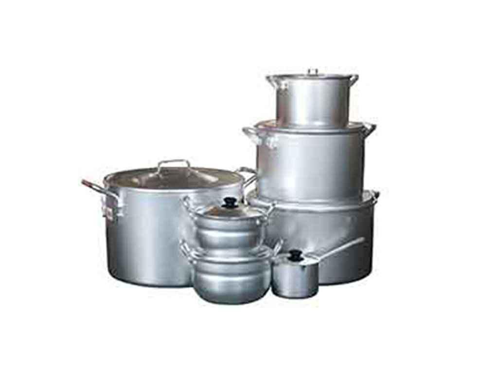 Набор алюминиевой посуды INTEROS (7 предметов)