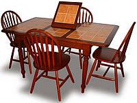 Стол СТ 364560 (CT 364560 ) Onder Metal Беленный дуб