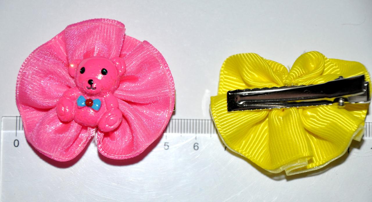 Зажимы для волос - мишки (12 шт)
